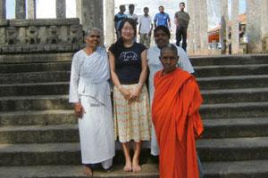 In Anuradhapura