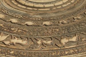 Moonstone in Anuradhapura