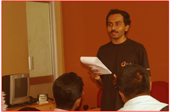 Raj Kumar of FOSS community