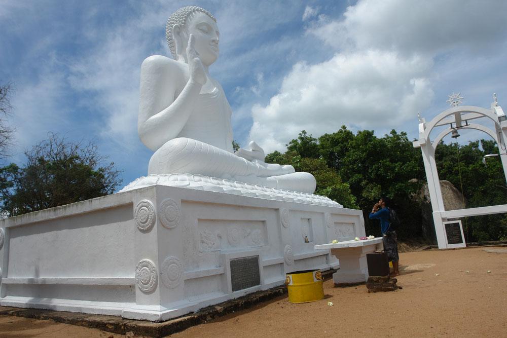 At Mirisawetiya, Anuradhapura