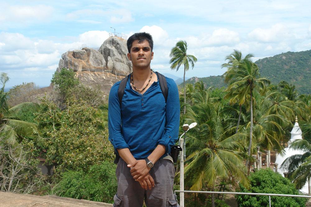 In Mihintale, Anuradhapura