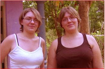 Jacqueline and Belinda Hession