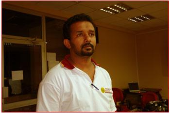 Producer Sadhdha Mangala Bandara
