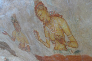 Sigiriya paintings
