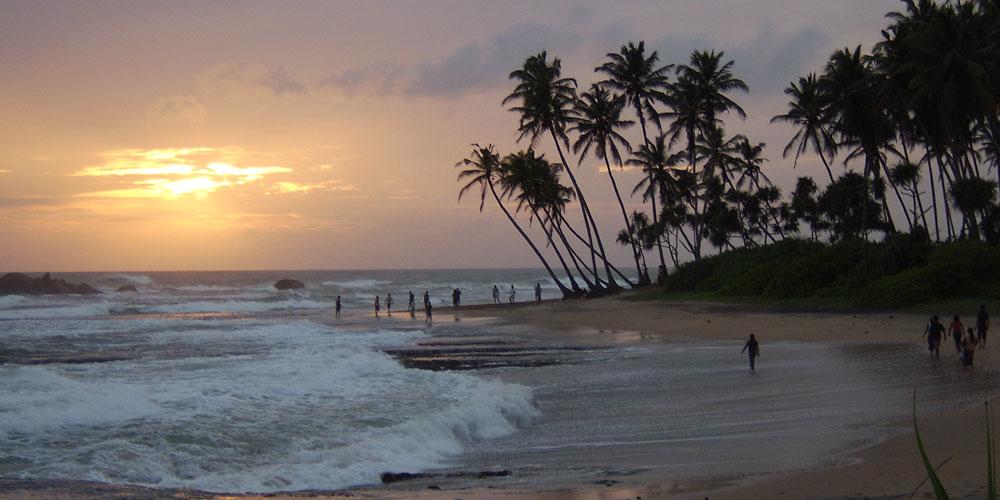 Sri Lankan beach