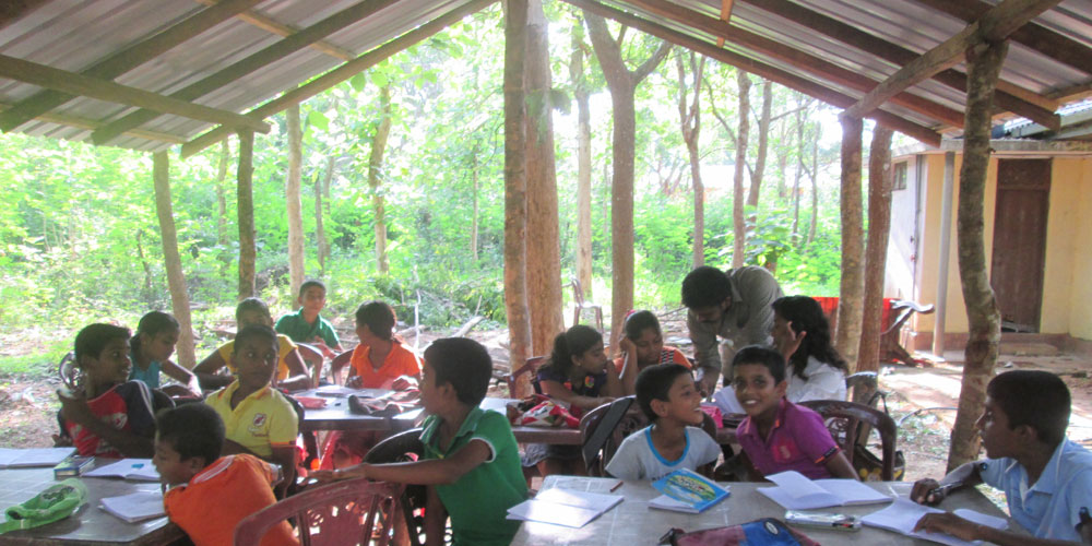 Learning mathematics in the new hut
