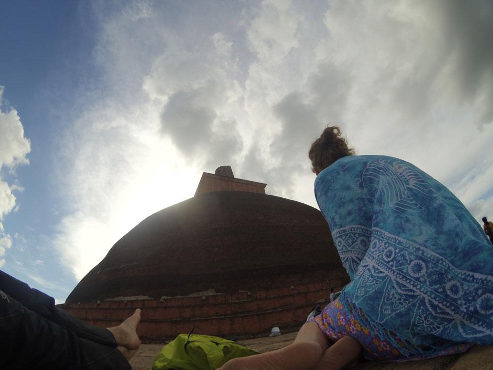 Near Jethawanaramaya Pagoda, Anuradhapura
