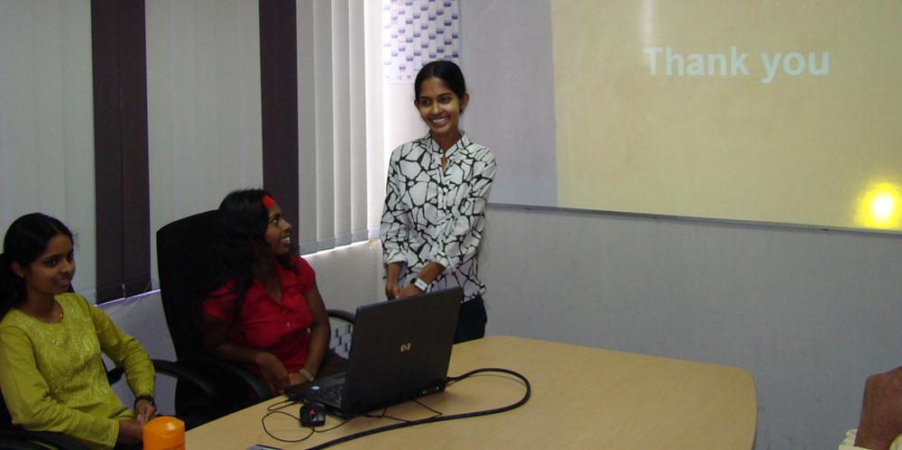 Ruvini, Iresha and Radhika