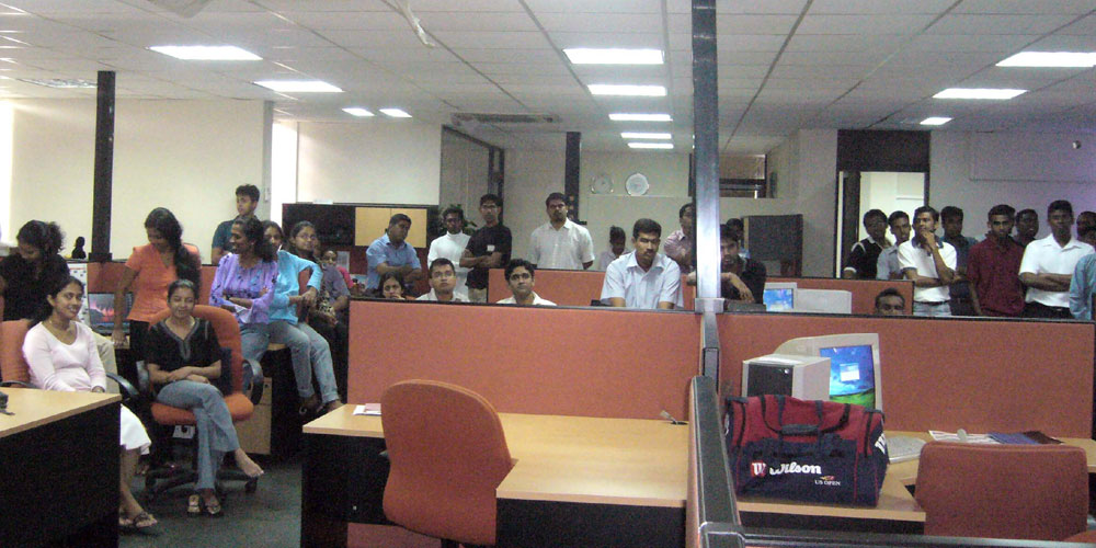 Staff of the Eurocenter DDC, Colombo