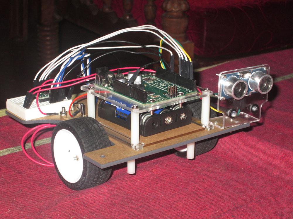 Pi-Bot robot unit