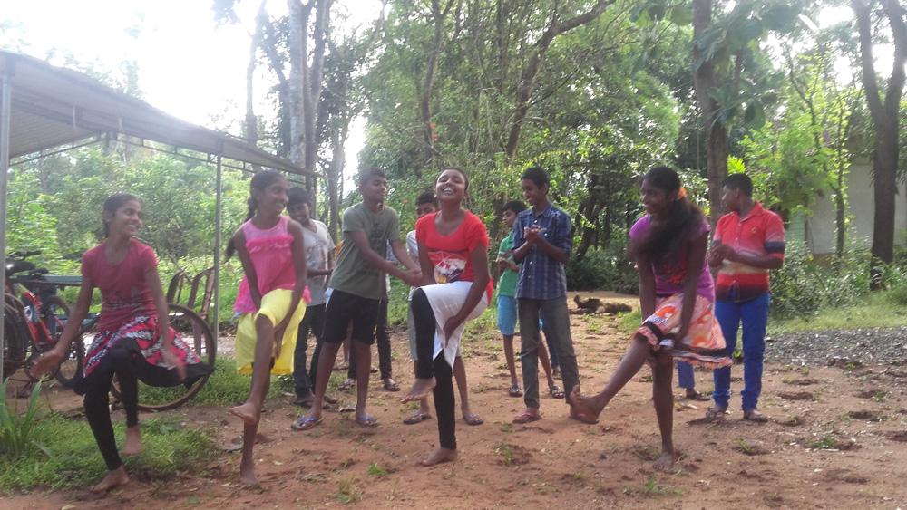 Horizon Lanka Dancers Practicing Ivan Pavuloosha Dance