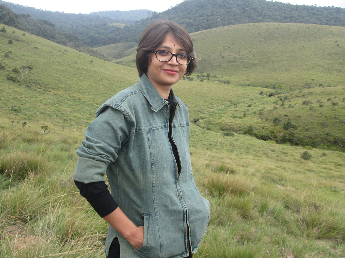Miss Nayab Rehman at Horton Plains, Nuwara Eliya