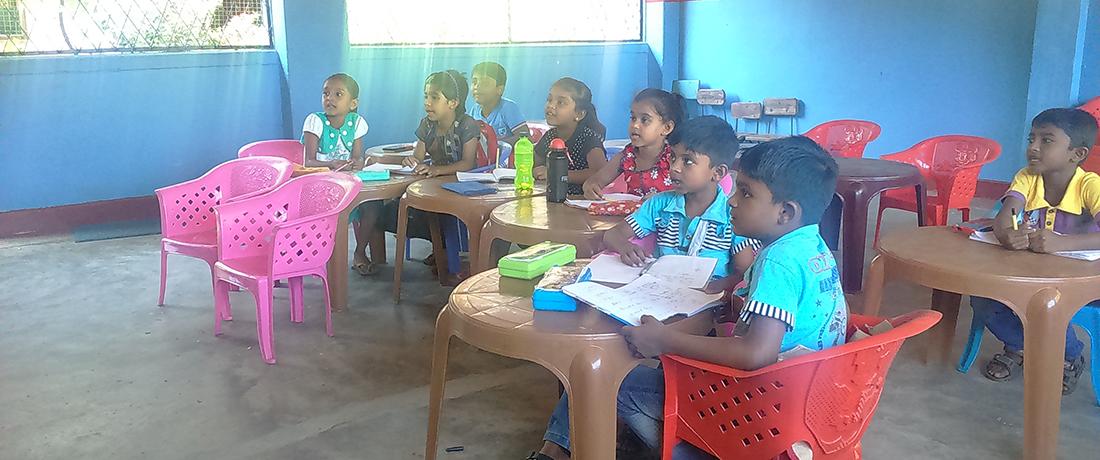 Horizon Lanka Vakarai students