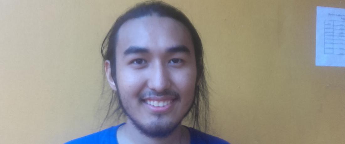 Nurlan Kudaibergen from Kazakhstan