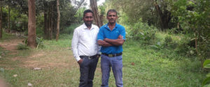 Mr. Nanda Wanninayaka and Mr. Roshan Pratheepan