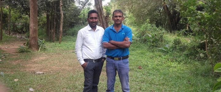 Mr. Nanda Wanninayaka and Mr. Roshan Pratheepan