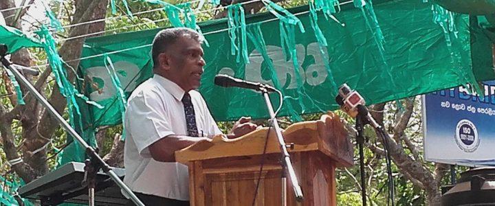 Divisional Secretary of Mahawilachchiya Mr. E. R. Thilakarathna