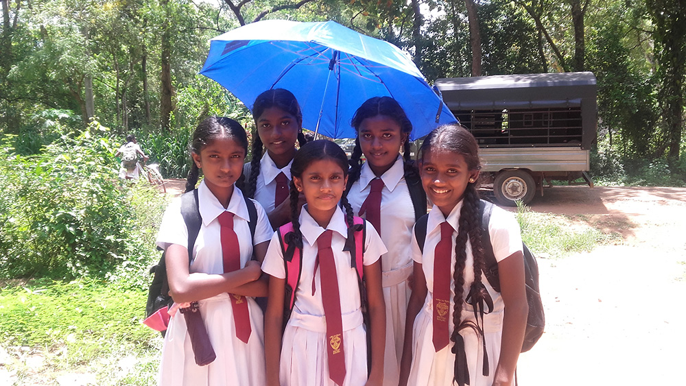 Sri Lankan Public School Girls' Uniforms