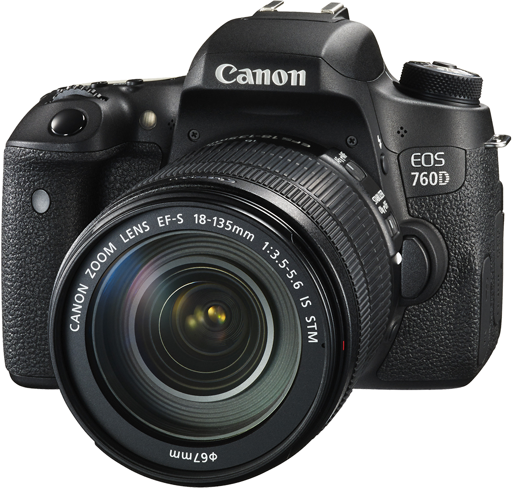 Canon EOS 760D Kit (18-135mm STM) camera