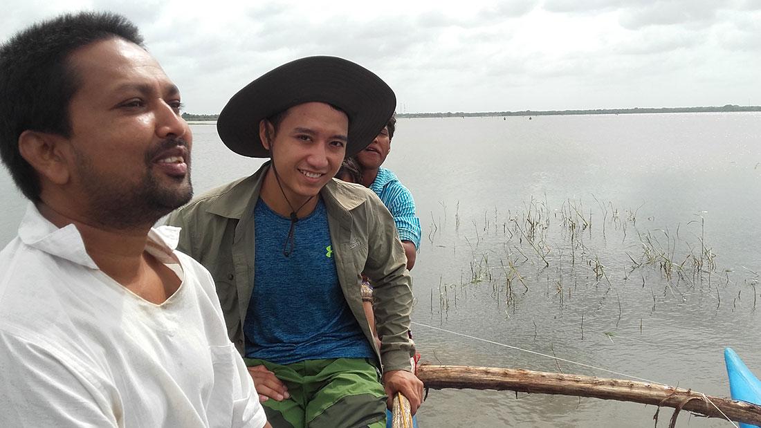 In Mahawilachchiya reservoir