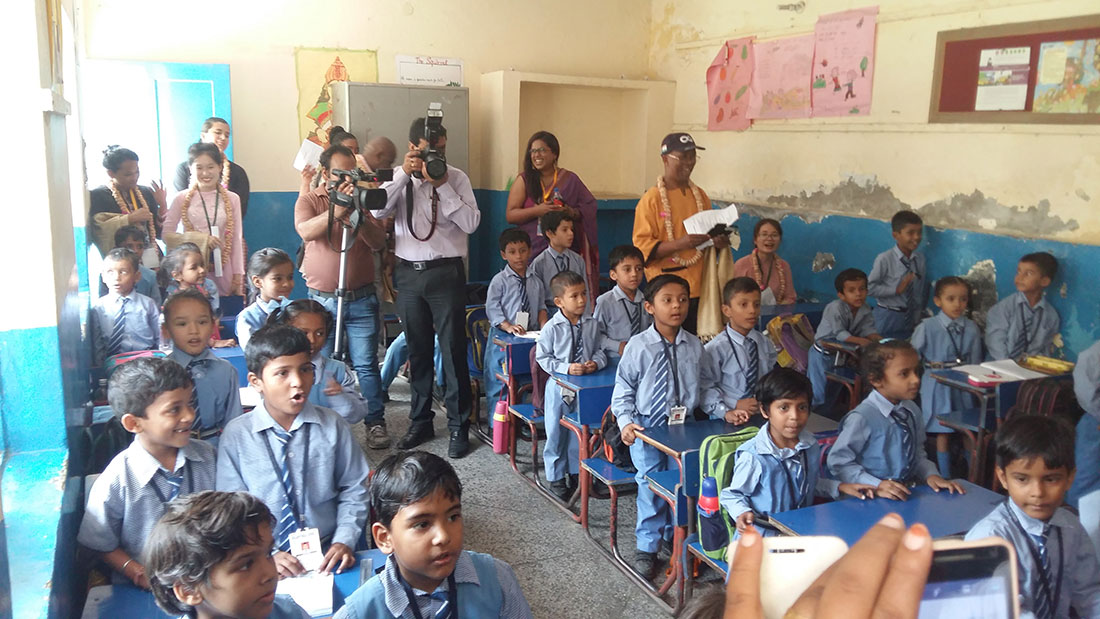 Students of Sulabh Public School
