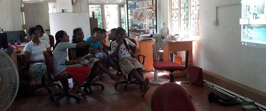 At the sanitary club meeting