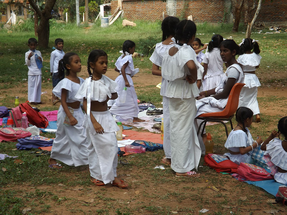 Dhamma School children in Tantirimale