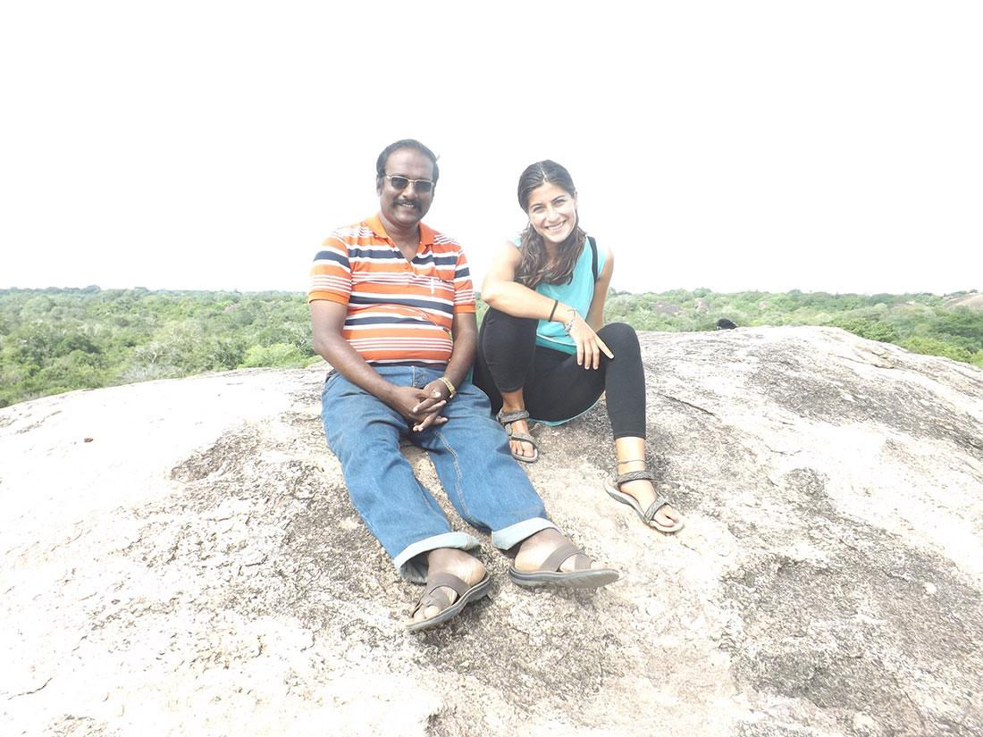 Prince and Cristina at Tantirimale, Mahawilachchiya