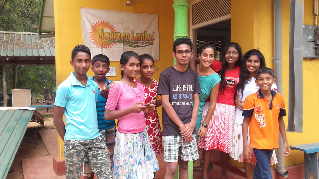 Sohan and the students after the workshop