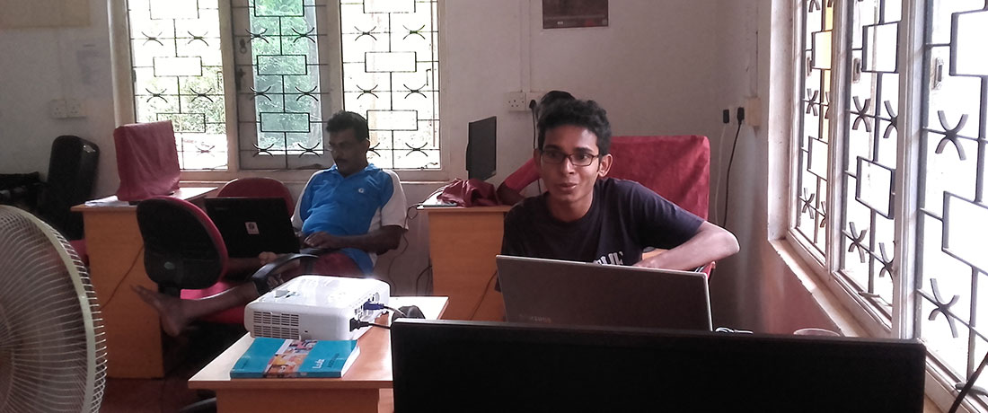 Sohan Fernando's Photoshop Workshop at Horizon Lanka Academy
