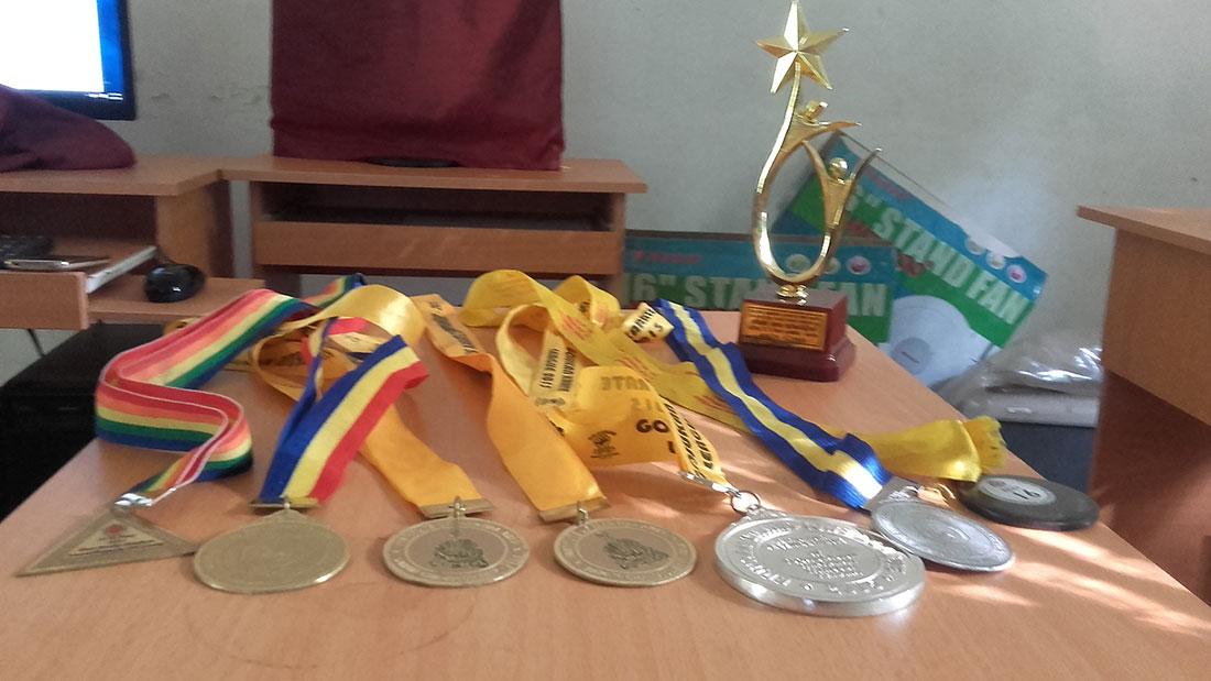Pramodhya Umayangani's medals