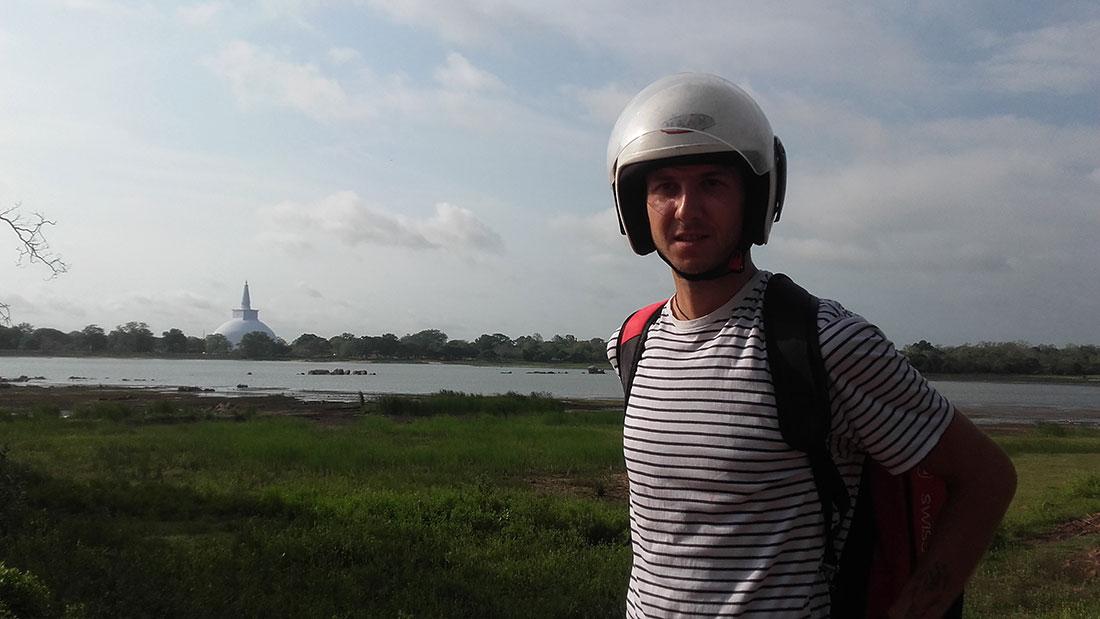 Aleksandar Isailovic in Anuradhapura