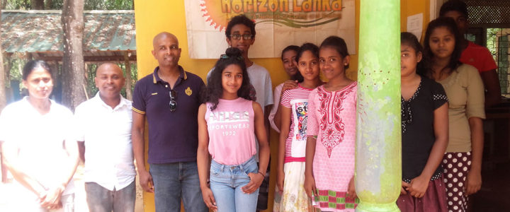 Gifts from Chicago, USA for Horizon Lanka students and the villagers