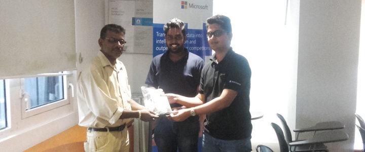 Mr. Prabhath Mannapperuma and Mr. Avishka Laknath