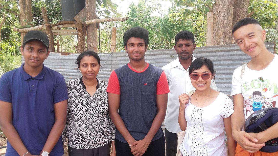 Champika Sumithraarachchi at Horizon Academy, Tantirimale