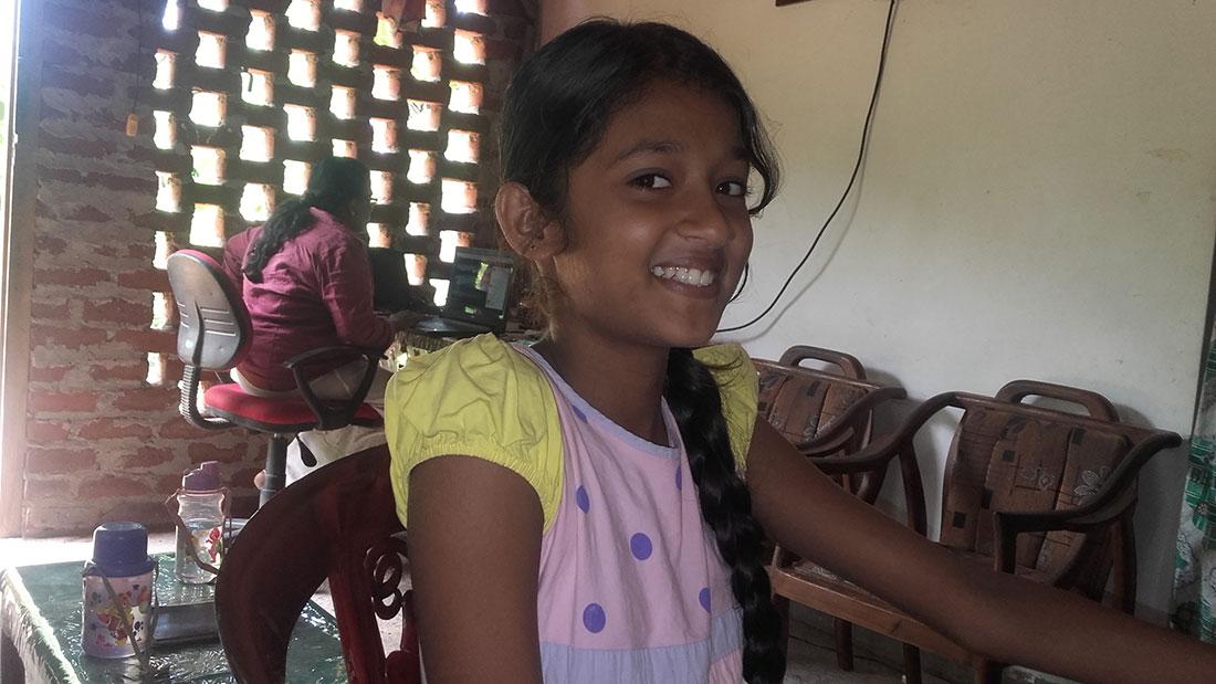 Students learning computers at Horizon Academy, Anuradhapura City