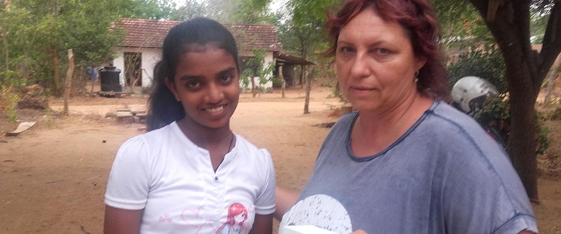 Ms. Sylva Tillova and Pramodhya Umayangani