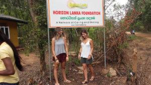 Helena Palmeira and Juliana Machado at Horizon Lanka
