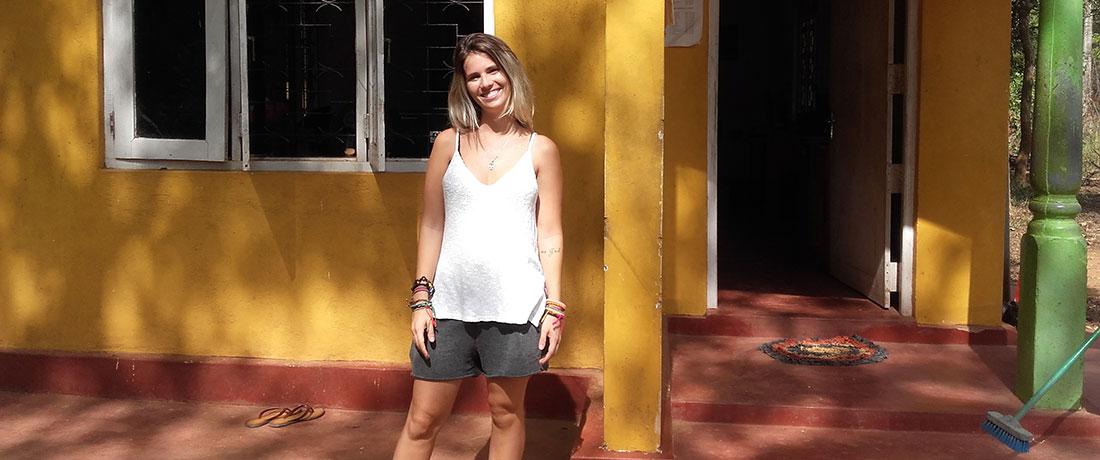 Miss Juliana Machado from Brazil