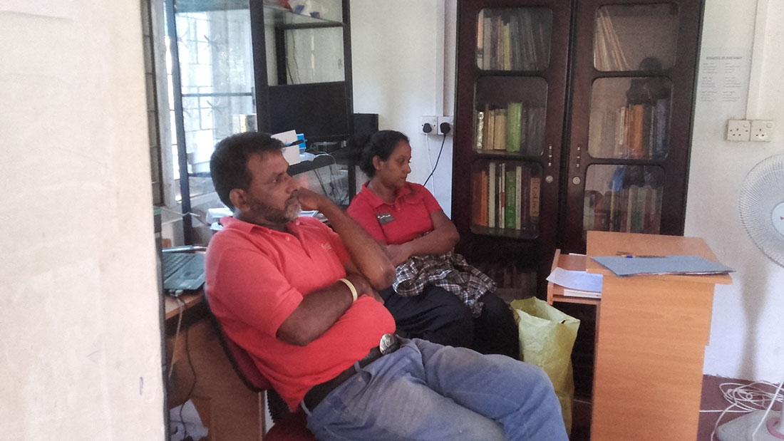 Mr Nanda Wanninayaka and Miss Jeewani Shanika Dissanayaka