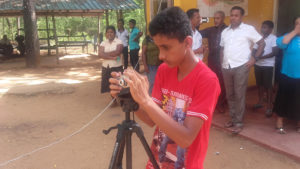 Ashen Chandoopa, our videographer