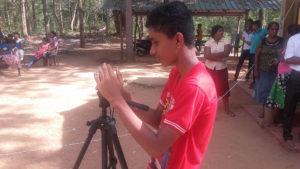 Ashen Chandoopa, our videographer