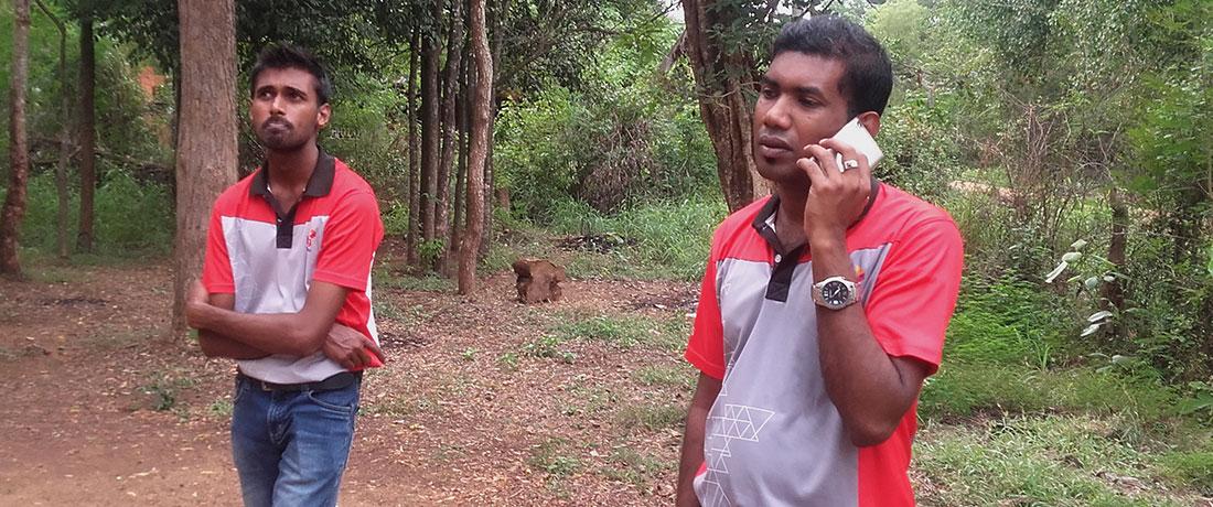 Diaog Axiata PLC team at Horizon Lanka