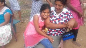 Himaya and her mum