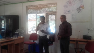 Mr. Ranjan Rathnamala and Mr. Nihal Jayawardana