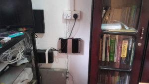 Dialog Axiata installing a CenRF WCDMA Pico Repeater at Horizon Academy - Mahawilachchiya.