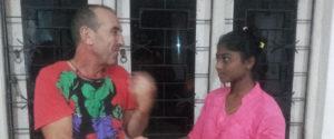 A friend of Mr. Qurro Lopez donated 20,000 LKR (130 USD) for the student Prabodha Kalotuwawa.