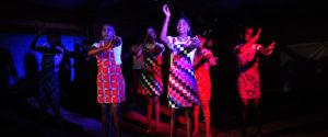 "Students at Horizon Academy – Mahawilachchiya dancing to the timeless hit ""Macarena"" by Los Del Rio"