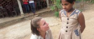 Miss Charlotte Moore at Horizon Academy - Anuradhapura City