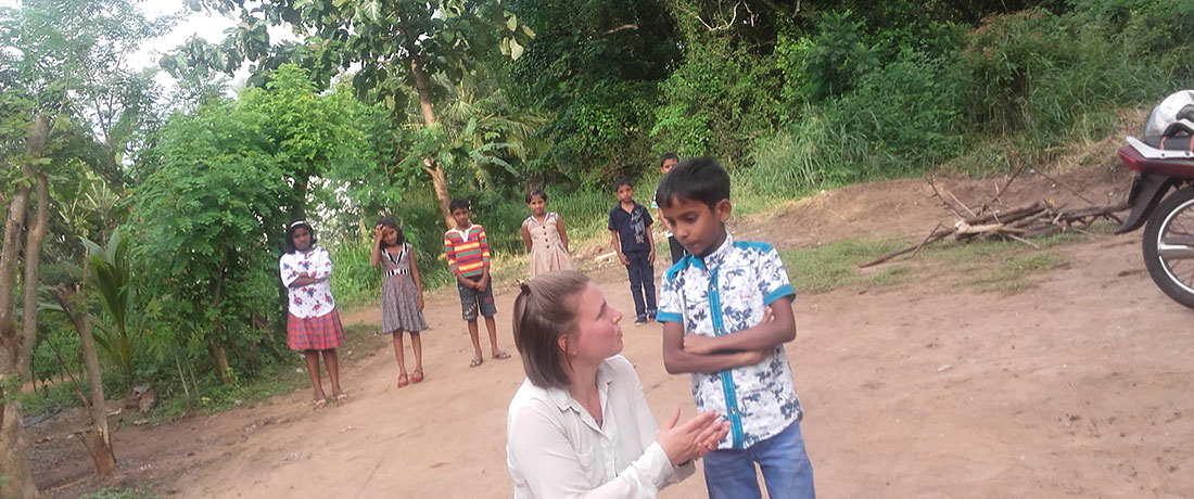 Miss Charlotte Moore at Horizon Academy - Anuradhapura City